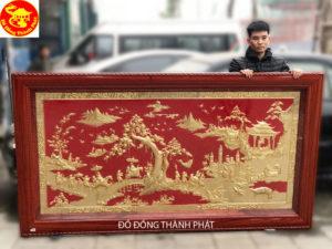 Địa chỉ bán tranh vinh quy bái tổ mạ vàng tại hà nội